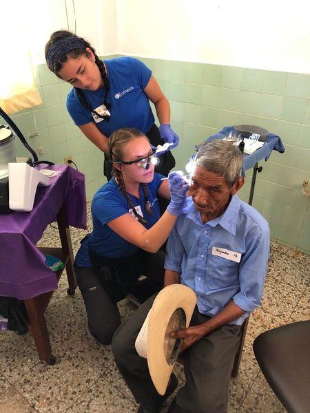 Hospital de la Familia Foundation ear exam