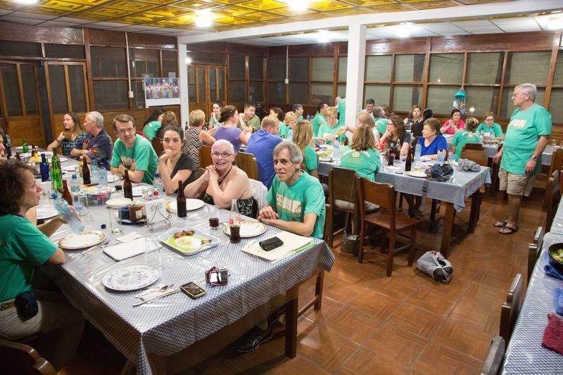 Hospital de la Familia Foundation dinner time