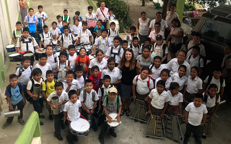 Hospital de la Familia Foundation elementary school band